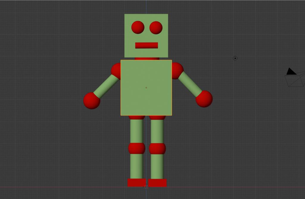 ロボット製作過程